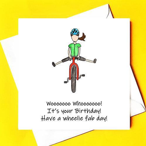 Woooo Hooooo it's your birthday!