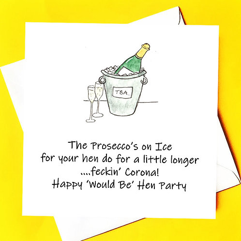 PROSECCO'S ON ICE!