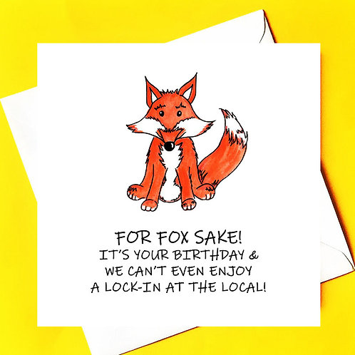FOX SAKE NO LOCK-IN