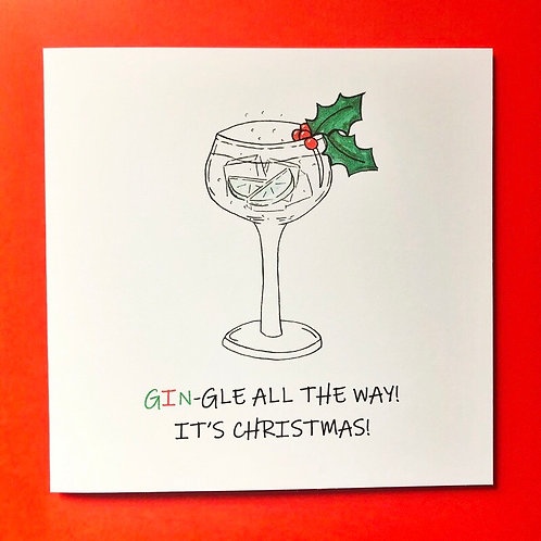 GIN-GLE ALL THE WAY!