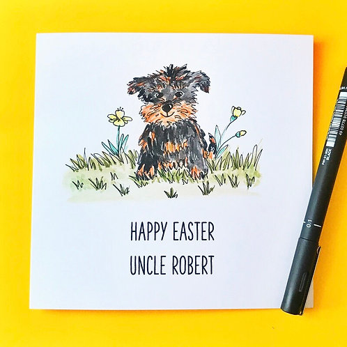 Easter Dog (yorkie)