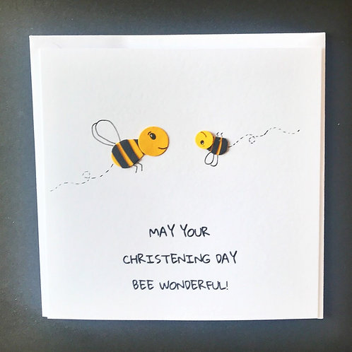 May your Christening Day BEE Wonderful