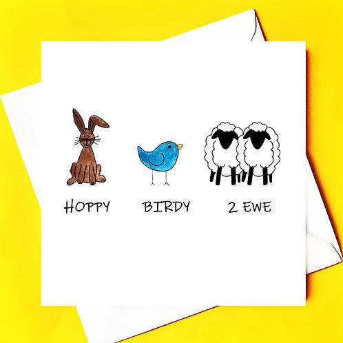 Hoppy Birdy 2 Ewe