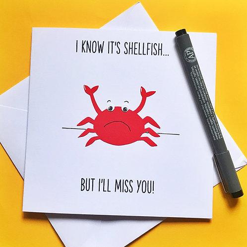 I'll Miss You!