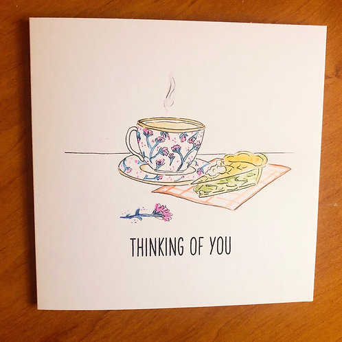 Thinking of you (cup of tea)