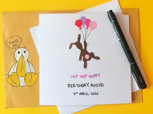 Hop hoppy birthday