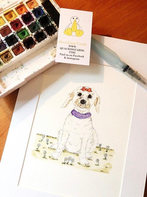 A5 Pet Watercolours