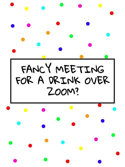 Drink over Zoom?