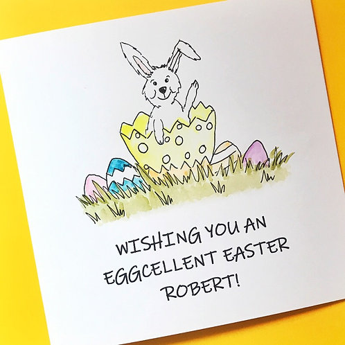Bunny in Egg