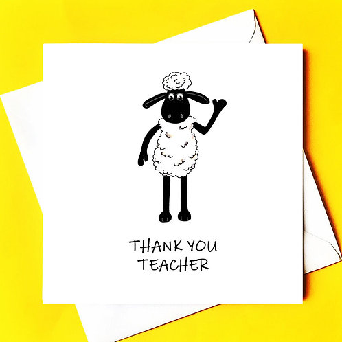 Thank You Teacher (personalised)