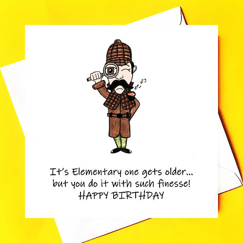 Sherlock Holmes Birthday