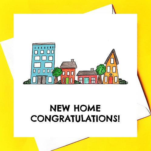 New Home/ Teach Nua *row of houses*