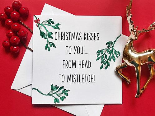 FROM HEAD TO MISTLETOE