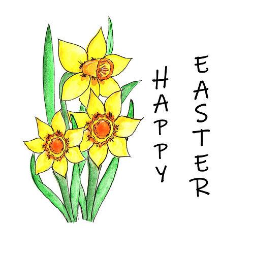 Happy Easter (daffodil)