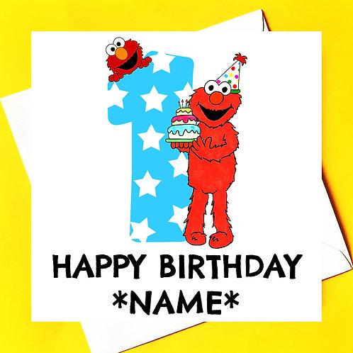 Happy Birthday fromElmo
