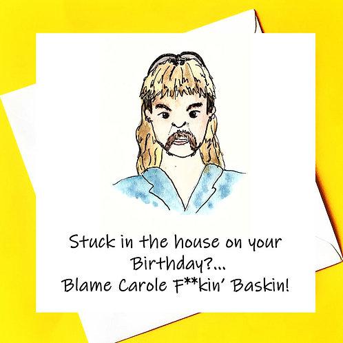Blame Carole Baskin..