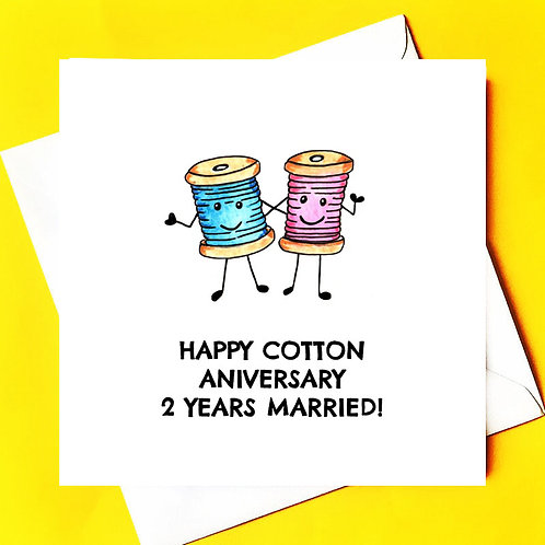 Cotton 2 year Anniversary