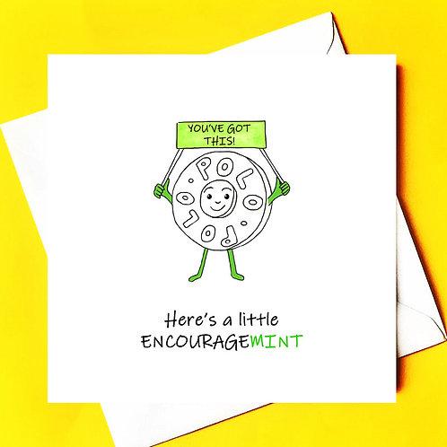 Encourage mint * thinking of you*