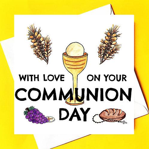 Communion Card *personalised*