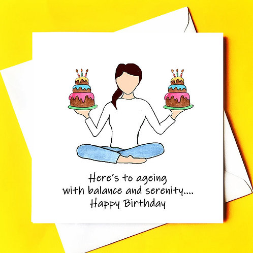 A Birthday full of Balance & Serenity