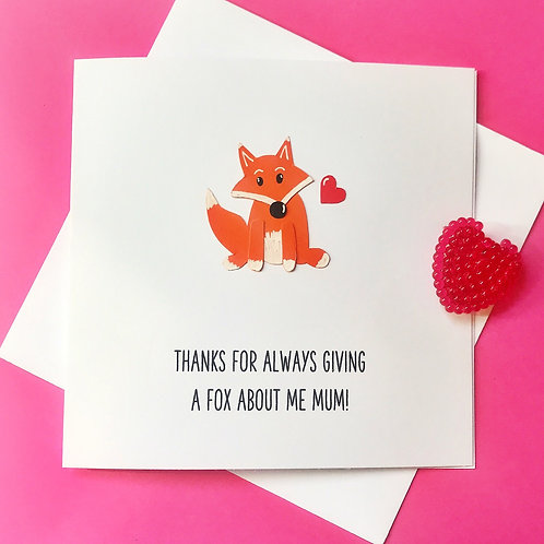 Always give a Fox