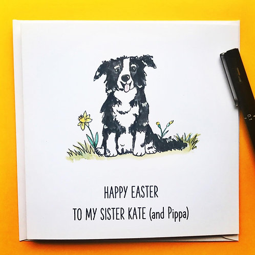 Easter Dog (collie)