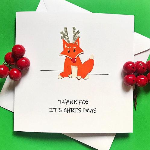 THANK FOX IT'S CHRISTMAS!