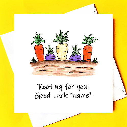 Rooting for you!