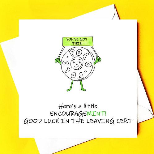 Encourage-mint!