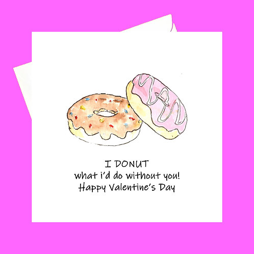 Donut what I'd do without you!