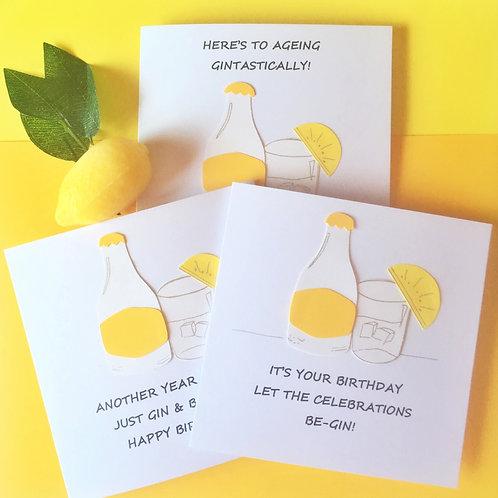 Gin Cards