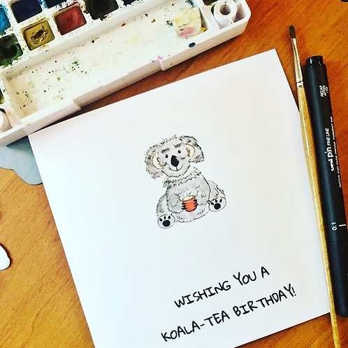 Koala-tea Birthday