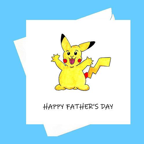 PICKACHU FATHER'S DAY