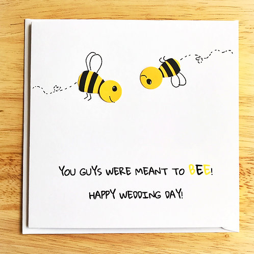 Meant to Bee wedding