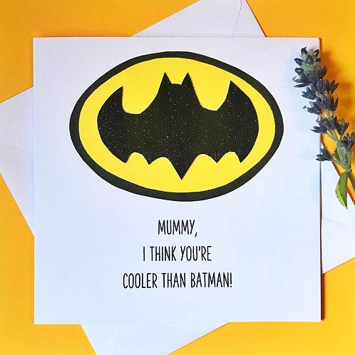 Cooler than Batman