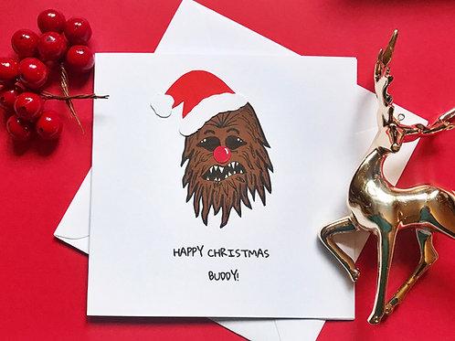 HAPPY CHRISTMAS BUDDY!