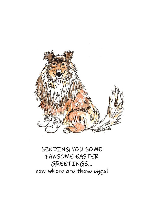 Pawsome Easter Greetings