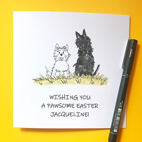 Pawsome Easter Greetings 2
