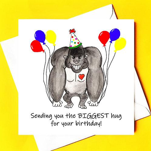 BIGGEST birthday hug!