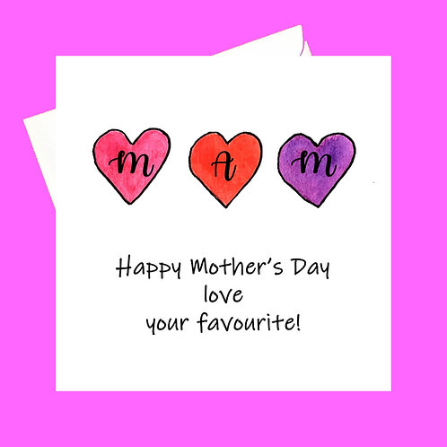Happy Mother's Day from your !fave