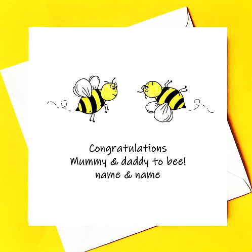 Mummy & Daddy to bee...