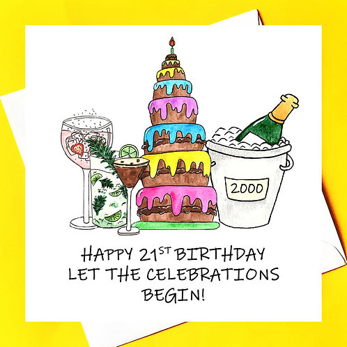 Epic Birthday celebrations. (ideal for 21st or other big birthdays)