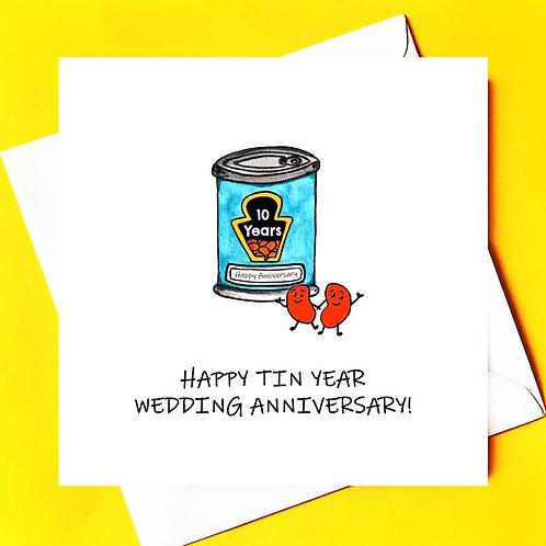 10 YEARS MARRIED (TIN ANNIVERSARY)