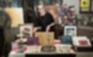 Artist and owner of Sunset Studio MN