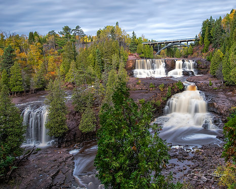 "Gooseberry Falls, MN (20""x16"")"