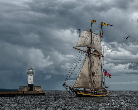 "Tall Ship (16""x20"")"