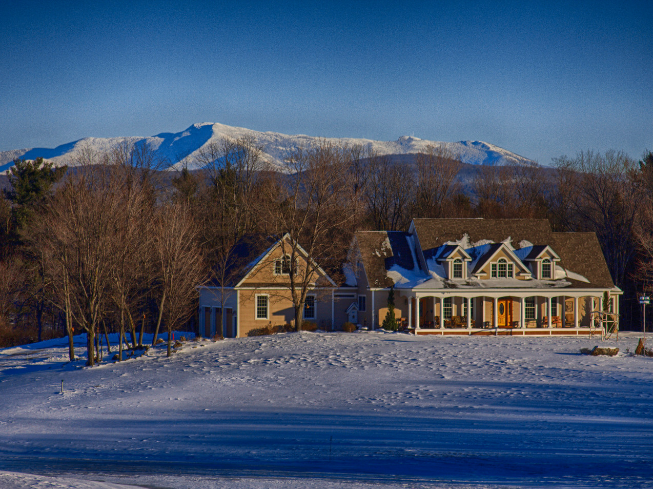 In The Shadow Of Mount Mansfield