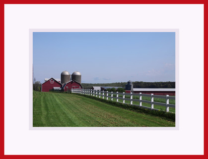 A White Wooden Fence