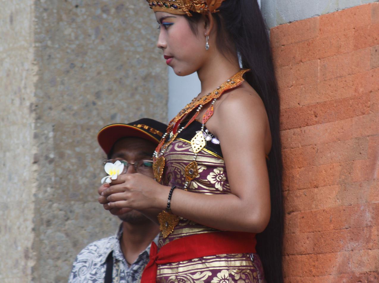 A Ceremonial Barong Dancer