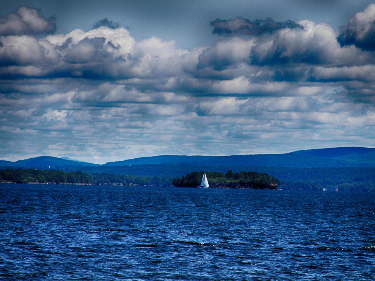 A Lone Sail